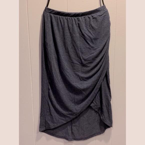 Nine 1 Eight high low hem skirt small